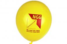 NGG-Luftballons, gelb