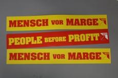 Banner Mensch vor Marge