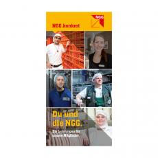 Flyer Du und die NGG (NGG.konkret) deutsch