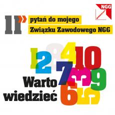 Leporello 11 Fragen an meine Gewerkschaft (polnisch)
