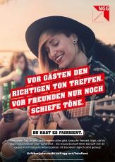 #fairdient-Plakat richtiger Ton