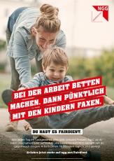 #fairdient-Plakat Faxen machen