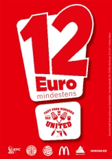 12¤-Karte Fast Food Workers United