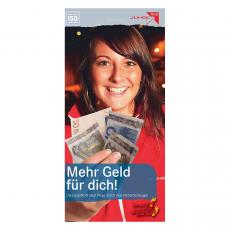 Flyer Mehr Geld für dich