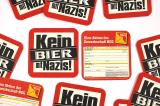 Bierdeckel Kein Bier mit Nazis! mit Beitrittserklärung