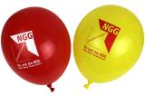 NGG-Luftballons, rot