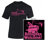 jungeNGG: T-Shirt Refugees Welcome