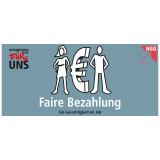 Themenflyer - Fairbezahlung