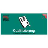 Themenflyer - Qualifizierung