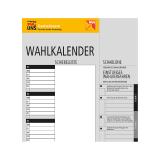 Betriebsratswahl 2018 - Wahlkalender einstufiges Wahlverfahren
