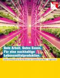 Broschüre: Gute Arbeit. Gutes Essen. Für eine nachhaltige Lebensmittelproduktion.