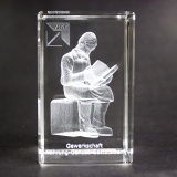 Vorleser Glasquader