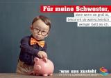 Postkarte Initiative Lohngerechtigkeit Motiv Schwester