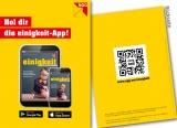 Flyer Hol dir die einigkeit-App!