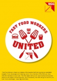 NGG-Flyer Fast Food Workers United (Englisch)
