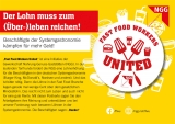 NGG-Postkarte Fast Food Workers United