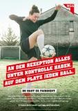 #fairdient-Plakat Fußball