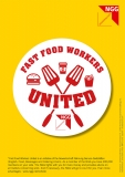 NGG-Flyer Fast Food Workers United (6 Sprachen)