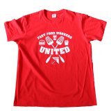 Fast Food Workers United - T-Shirt