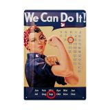 NGG-Frauen: Blechkalender