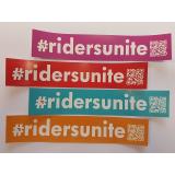 Aufkleber Riders unite